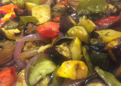 Buffet Marinated Mediterranean vegetables