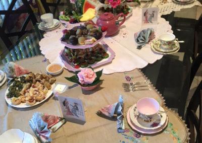 Floral high tea 5