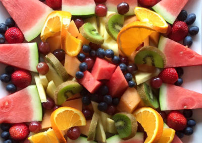 Fresh fruit platter 2