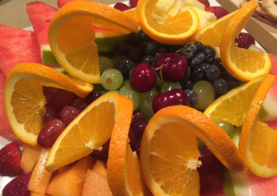 Fresh fruit platter 5