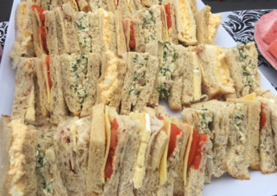 Freshly made sandwiches 3