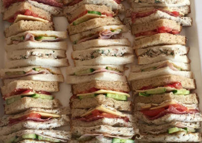 Freshly made sandwiches 4