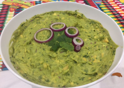 Mexican guacmole dip